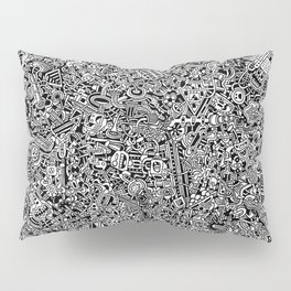 Intergalactic Junkyard Pillow Sham