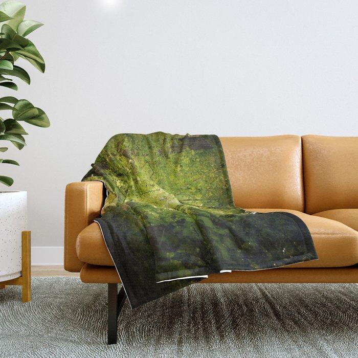 The Secret Path Throw Blanket