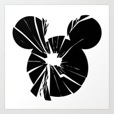 Mickey Is Dead No.1 Art Print