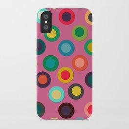 pink pop spot iPhone Case