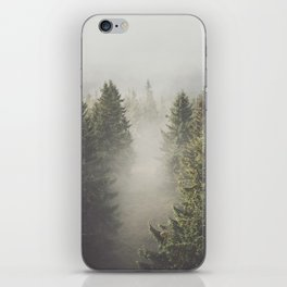 My misty way - Landscape and Nature Photography iPhone Skin