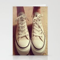 converse Stationery Cards featuring Converse by M O L L Y J A N E