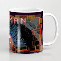 ironman Mugs featuring IronMan by André Joseph Martin