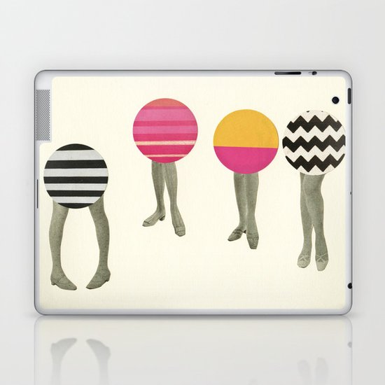 Dancing Feet Laptop & iPad Skin