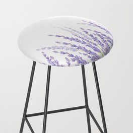 Lavender in the Field Bar Stool