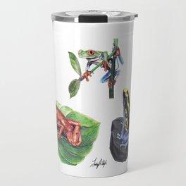 Jungle Frogs Travel Mug