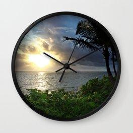 Hawaiian Light Wall Clock