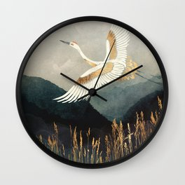 Elegant Flight Wall Clock