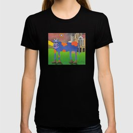 Udderly Frank - Funny Cow Art T-shirt