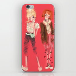 Valérie & Pomme iPhone Skin