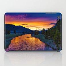 Sundown At Yellowstone iPad Case