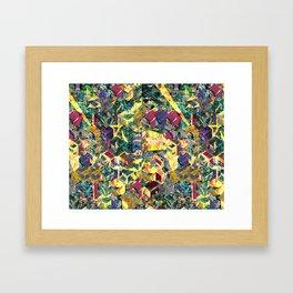 gifslap h-tile 2! Framed Art Print