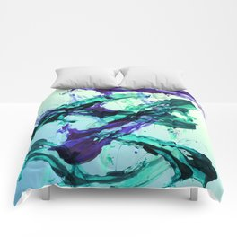 Vaporwave Style Abstraction Comforters