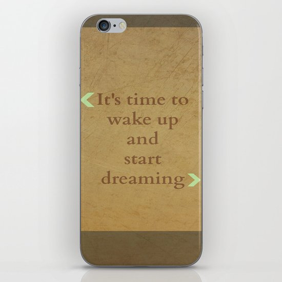 It's time to wake up... iPhone & iPod Skin