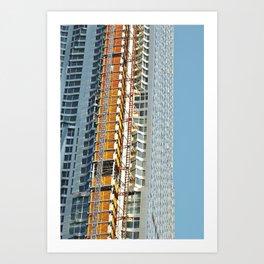 Miami in New York Art Print