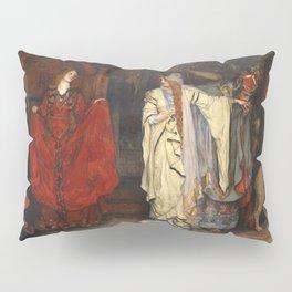 King Lear: Cordelia's Farewell, Act I, Scene I by Edwin Austin Abbey Pillow Sham