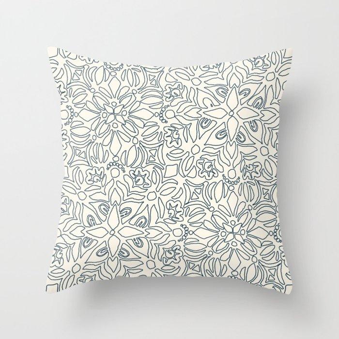 Kerala Throw Pillow