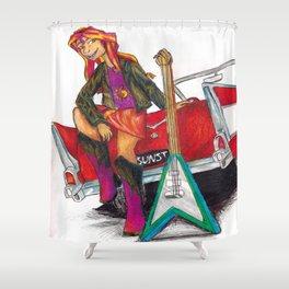 Rockin n Rollin Shower Curtain