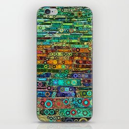 :: Technicolor Walkway :: iPhone Skin