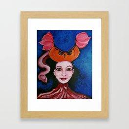 Kamma Framed Art Print
