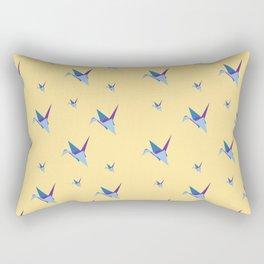 A Siege of Cranes Rectangular Pillow