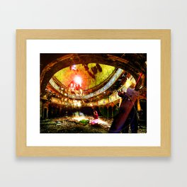 The Flower Girl - Final Fantasy VII Framed Art Print