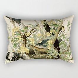 Mockingbirds and Rattlesnake Rectangular Pillow