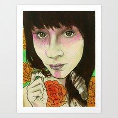 Shannon Tea Art Print