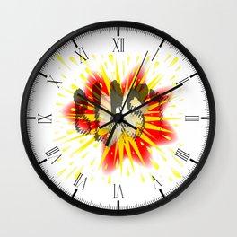 Comic Blast Wall Clock