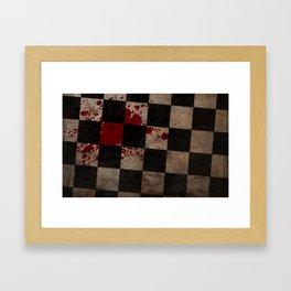 Missed A Spot Framed Art Print