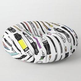 Pent Up Creativity (Color) Floor Pillow