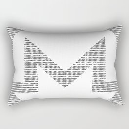 Binary Monero Rectangular Pillow