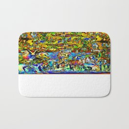 Garden of Earthly Delights   Bath Mat