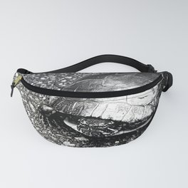 Paintless Turtle Fanny Pack