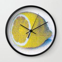 lemon - one Wall Clock