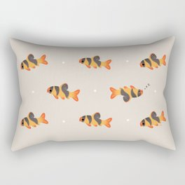 Clown loach Rectangular Pillow
