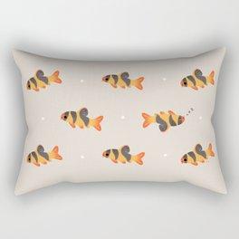 Clown loach Rectangular Pillow
