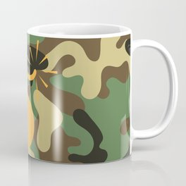 CAMO & ORANGE BOMB DIGGITY Coffee Mug