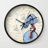 ellie goulding Wall Clocks featuring Ellie  by Dana Bean