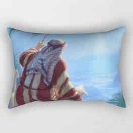 Shepherd and lamb Rectangular Pillow