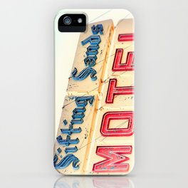 Shifting Sands Motel iPhone Case