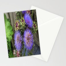 Purple Blooms Stationery Cards