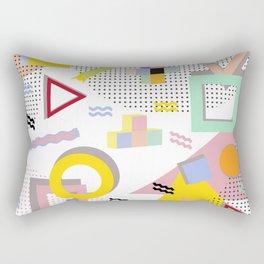 Memphis Design Rectangular Pillow
