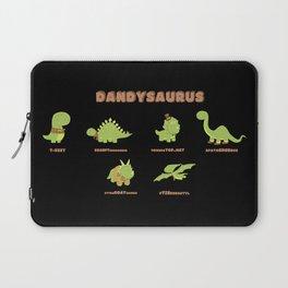 DANDYSAURUS - Dark Version Laptop Sleeve