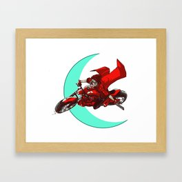 Robin and the Big Bad Wolf Framed Art Print