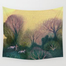 Familiar Woods Wall Tapestry