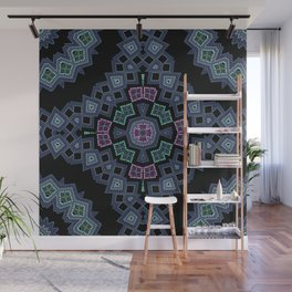 Embroidered beads pattern 1 Wall Mural