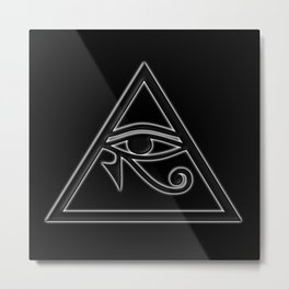 The Eye of Horus Metal Print
