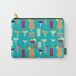 Retro Cocktails Carry-All Pouch