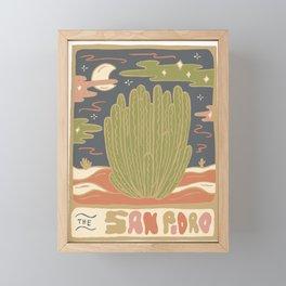Cactus Tarot Cards- San Pedro Framed Mini Art Print
